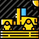 agriculture, farm, farming, modern, tractor icon