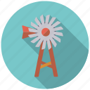 agriculture, farm, pump, wind turbine icon