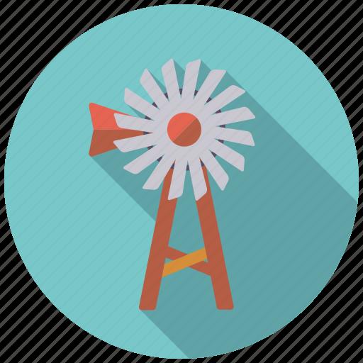 agriculture, farm, pump, wind turbine icon