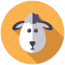 agriculture, animal, cattle, farm, lamb, sheep icon