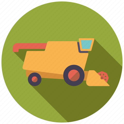 agriculture, farm, farming, harvester, machine, vehicle icon