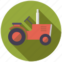 agriculture, farm, farming, machine, tractor, vehicle icon