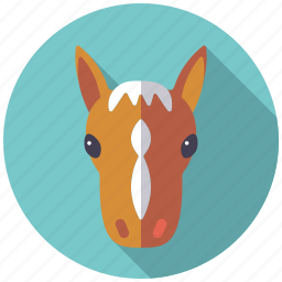 agriculture, animal, colt, farm, horse, pony icon
