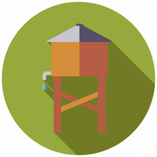 Agriculture, farm, reservoir, water icon - Download on Iconfinder