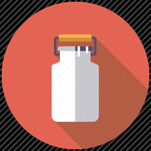 agriculture, canister, churn, dairy, farm, milk icon