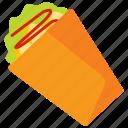 food, kebab, meat, sausage icon