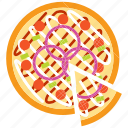 fast food, food, italian, pizza, restaurant icon