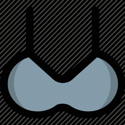 bikini, brassiere, clubwear bra, ladies undergarment, undergarment icon