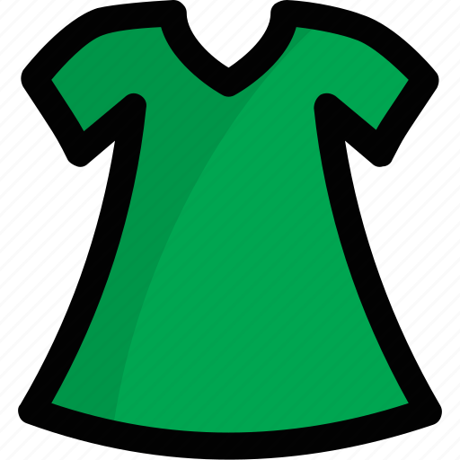 blouse, clothes, garment, girl frock, tunic icon
