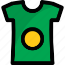 clothing, garment, round neck, shirt, t-shirt icon
