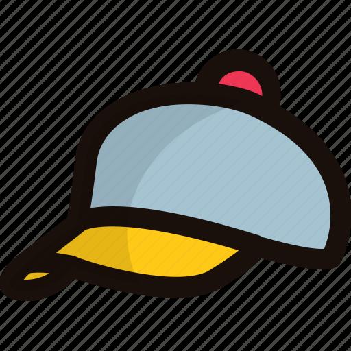 baseball cap, beach cap, cap, shade cap, sports cap icon