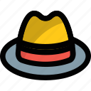beach hat, floppy hat, hat, headwear, summer hat icon