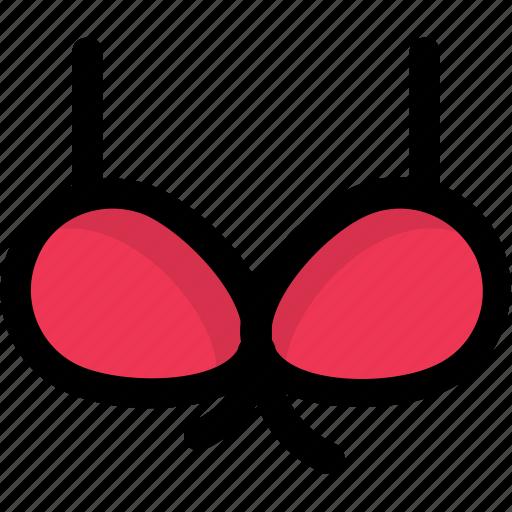 bikini, brassiere, clubwear bra, fashion, ladies undergarment icon
