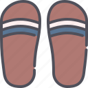 flip, flop, sandals, fashion, footwear, summer