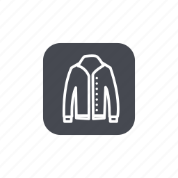 fashion, outwear icon