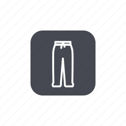 fashion, pants icon