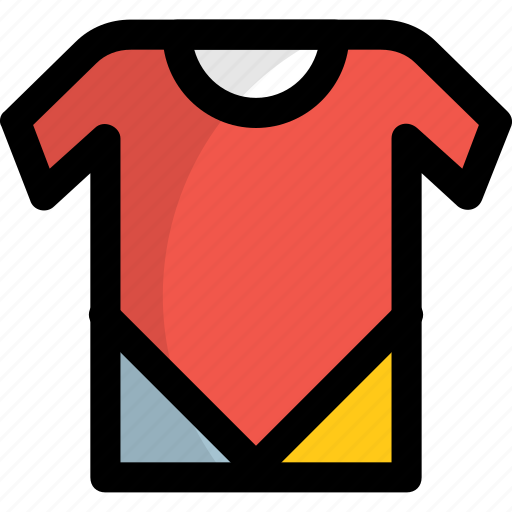 clothing, garment, round neck, summer dressing, t-shirt icon