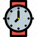 fashion watch, hand watch, timer, watch, wristwatch icon