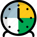 clock, stand clock, table clock, timekeeper, timepiece, timer icon