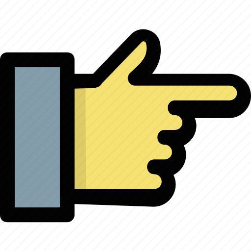 addressing, direction, finger pointing, hand gesture, indication icon