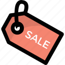 customer offers, sale label, sale offers, sale tag, shopping element icon