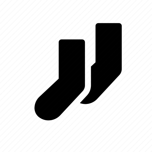 cloth, clothes, clothing, fashion, sock, wear icon