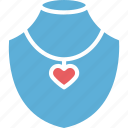 jewelry, jewelry showcase, necklace, necklace display icon