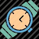 time, timepiece, watch, wrist watch icon