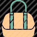 bag, hand bag, ladies purse, shoulder bag icon