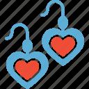 beauty, earrings, fashion accessory icon