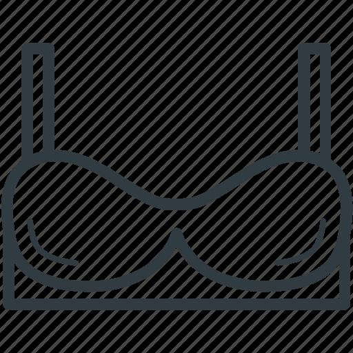 bra, brasserie, garments, underclothes, undergarments icon