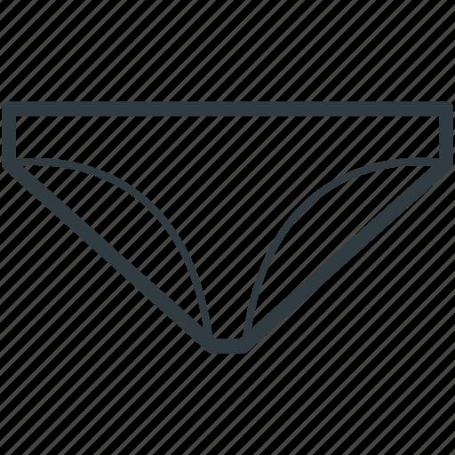 pantie, skivvies, underclothes, undergarments, underpants icon