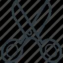 barber shear, cutting tool, hair cutting, hairdressing, scissor, shear icon