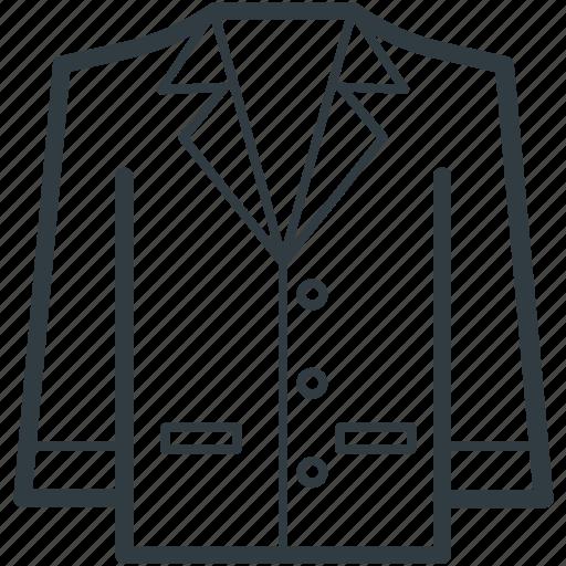 blazer, dress, formal wear, jacket, women dress icon