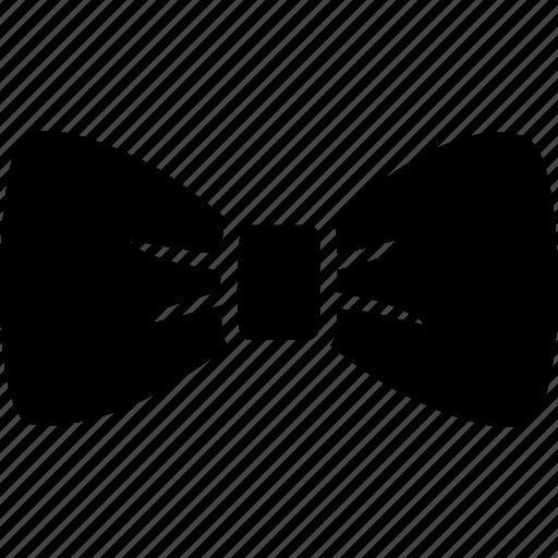 accessory, bow, bowtie, collar, neck, necktie, tie icon