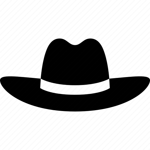 american, country, cowboy, cowgirl, fedora, hat, stetson icon