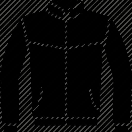 Bomber, coat, flight, jacket, leather, winter icon - Download on Iconfinder