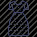 apparel, dress, fashion, women icon