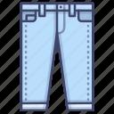 denim, jeans, pants, trousers icon