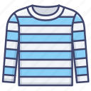 apparel, blouse, jumper, sweater icon