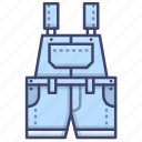 cargo, fashion, overalls, pants icon