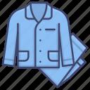 jammy, pajamas, sleep, sleepwear icon
