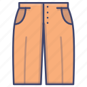 fashion, leg, pants, wild icon
