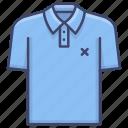apparel, clothing, polo, shirt icon