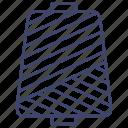 fiber, nylon, thread, yarn