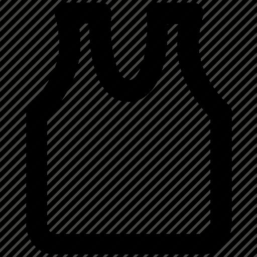 sleeveless shirt, underclothes, undergarment, undershirt, vest icon