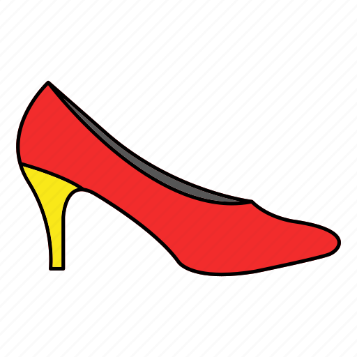 footwear, heels, shoes icon