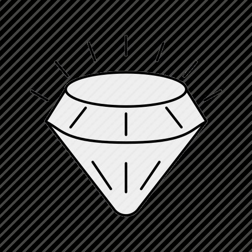 bling, diamond, gemstone, jewel icon