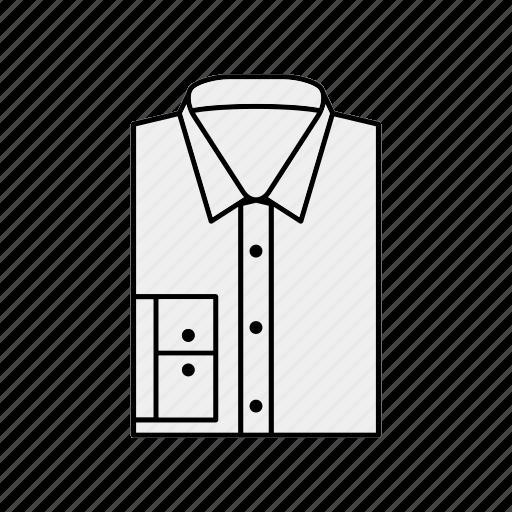 cloth, clothing, shirt icon