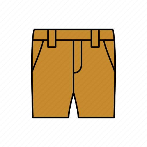 apparel, pants, shorts, trousers icon